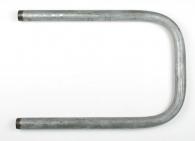 Полотенцесушитель стальной оцинкованный П-образный D-25